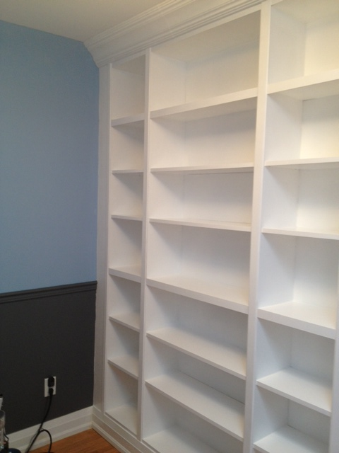 Left Side Of Bookcase