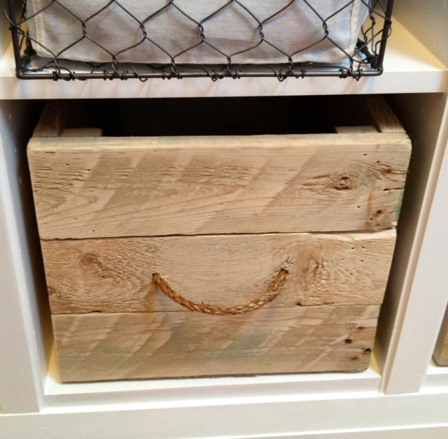DIY Pallet Crates Storefront Life
