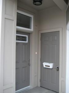 Door before painting