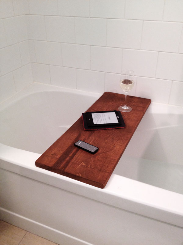 diy bath table storefront life On bathroom table