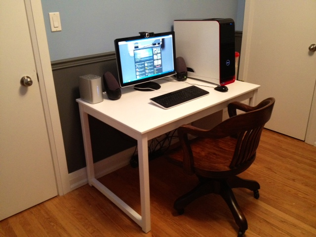 table to desk