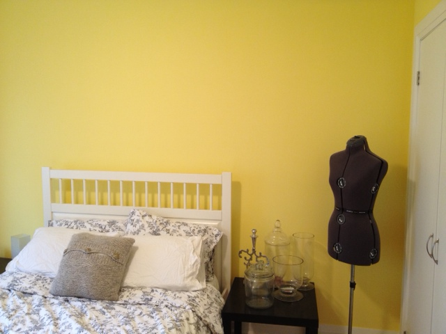 Guestroom Before. Guest Room Paint Colour Update   Storefront Life