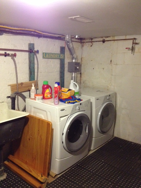 "The ""Laundry Room"" as it is now. Kinda depressing right?"
