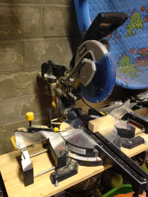 Martha the compound miter saw