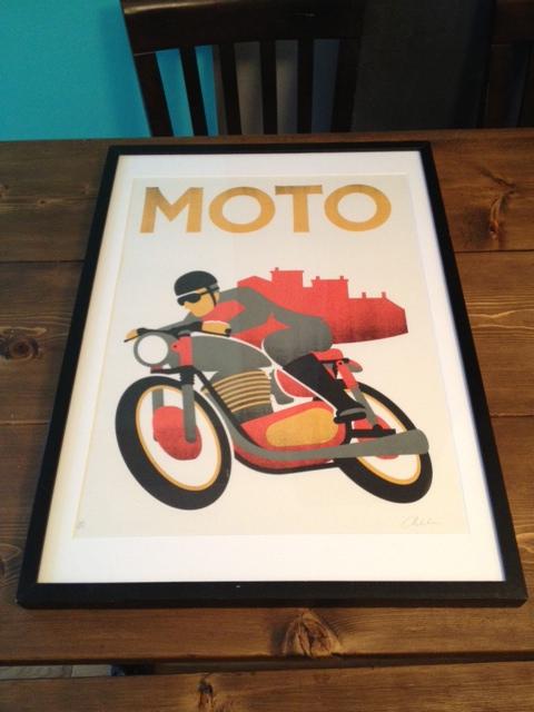 Print framed