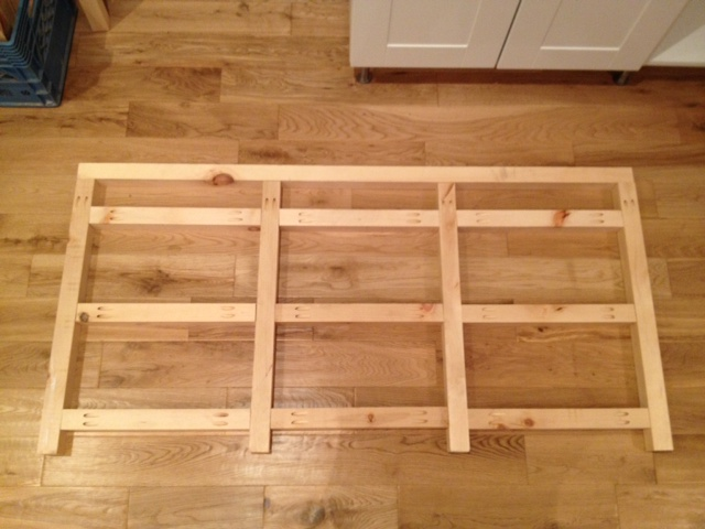 Frame laid out