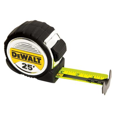 DeWALT 25' tape with 13 foot stand out (great for measuring things by yourself) $25.99