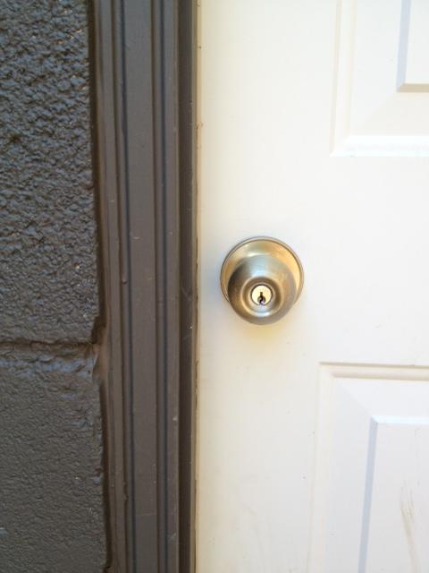 s door knob