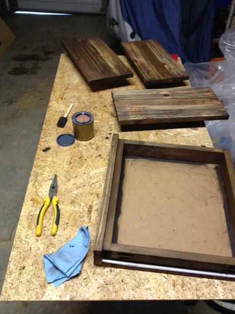 Drawers & doors mid-polyurthaning