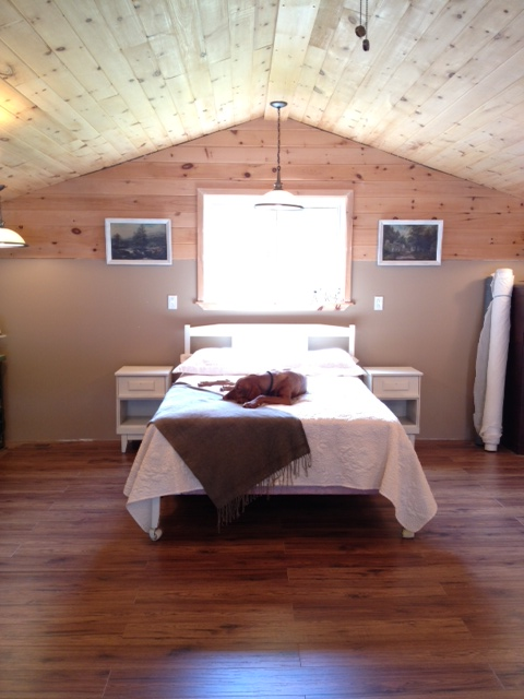 The Cottage Loft Bedroom