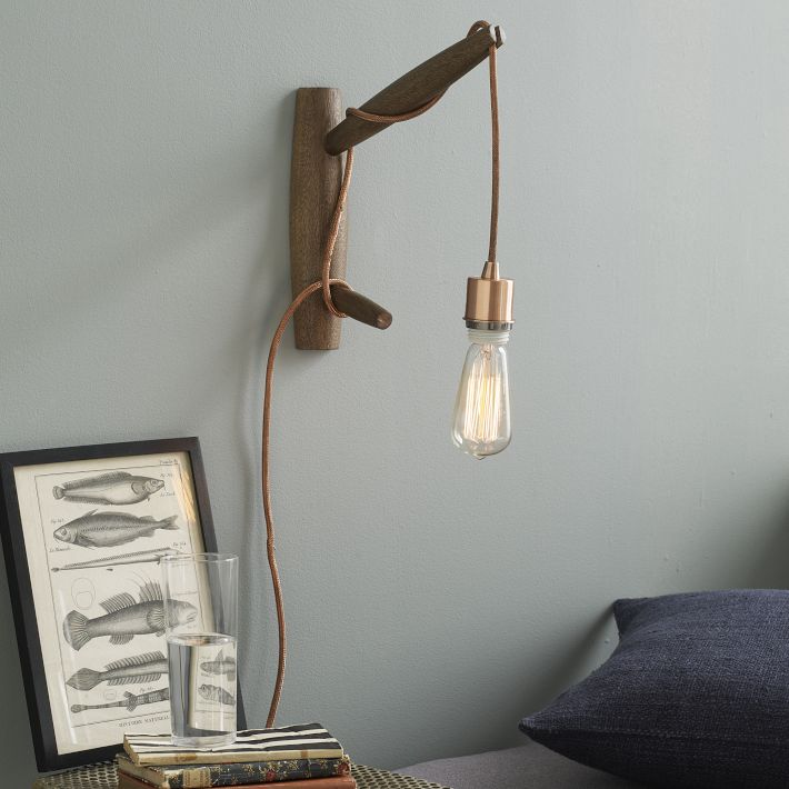 West Elm Copper Light & Sconce