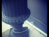 Burglar Proofing Flower Urns