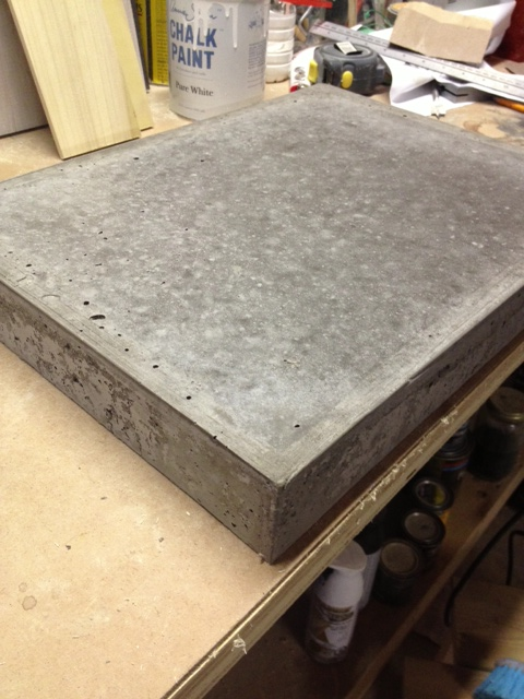 Concrete cuttingboard