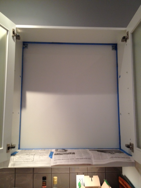 Cabinet Taped
