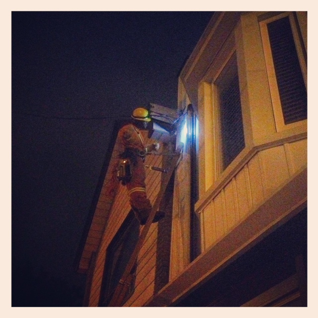 Super Amazing Hydro Guy fixing the power