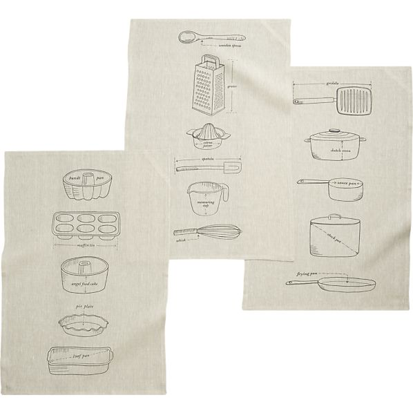 gourmet-blueprints-dishtowels-set-of-three