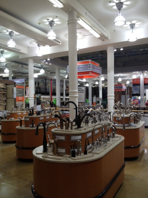 Home Depot 6th Ave - Faucet Department
