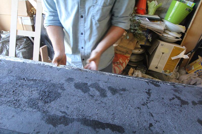 El Granto removing coffee bar form sides