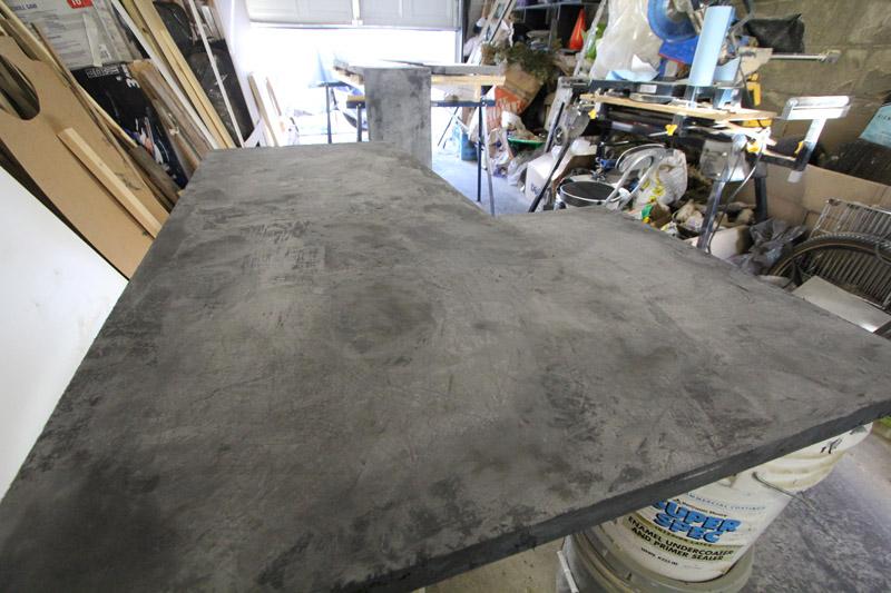 Slurried Concrete (is slurried a word?! It is now. BAZINGA!)