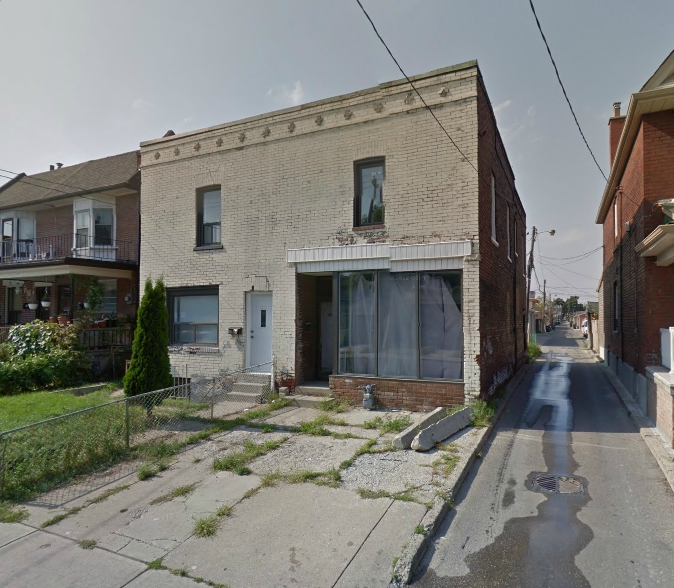 Before - Google Streetview undated image