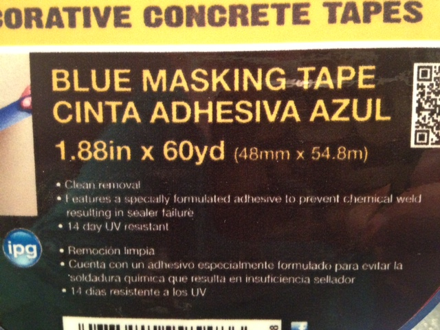 Listen to the tape packaging, it knows its stuff