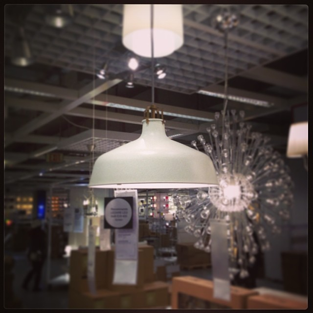 Ikea Ranarp Pendants. I purchased two!