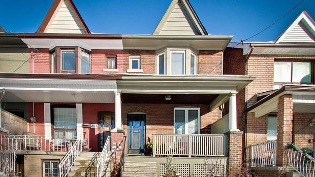 West Toronto semi that sold for almost $210,000 over asking.
