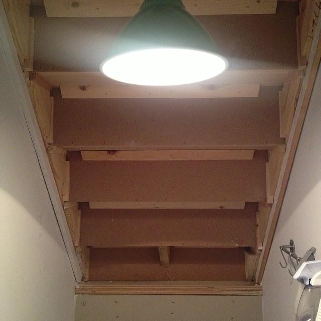 Lighting Basement Washroom Stairs: Basement Progress Report