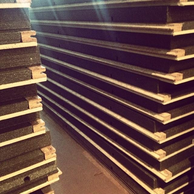 Basement Renovation Dricore Subfloor Installation: SMARTWALL Installation