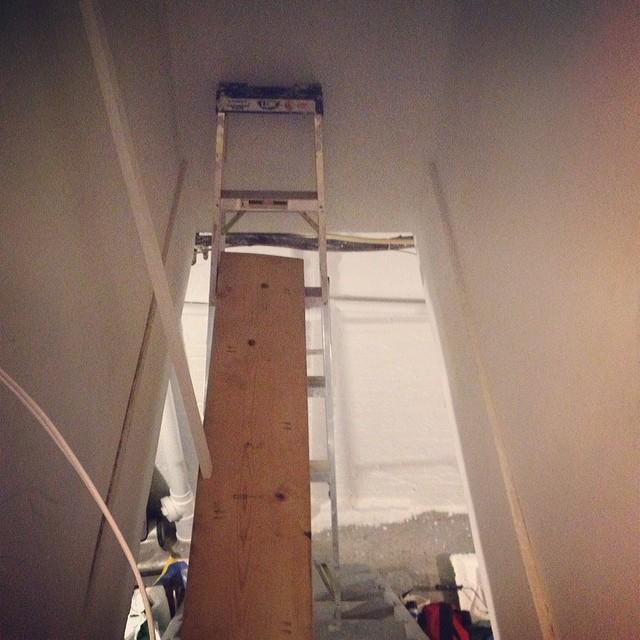 "Kristen's DIY ""Scaffolding"""