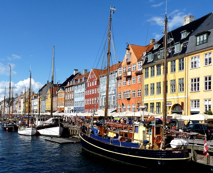 Copenhagen - Photo by Dudva via Wikipedia