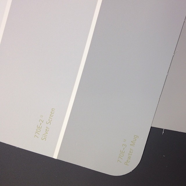 Choosing Paint colours for the exterior rear of the storefront