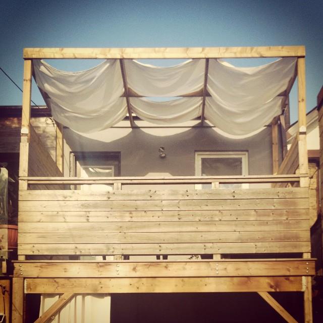 A pergola canopy! - Pergola Canopy - Storefront Life