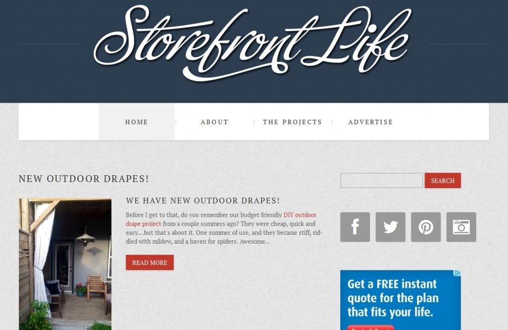 StorefrontLife.com New Site Design