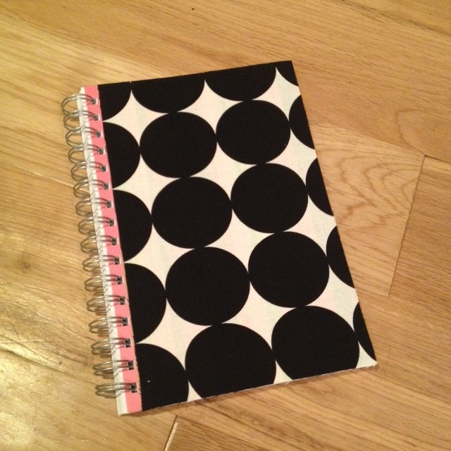 DIY Fabric Covered Notepad