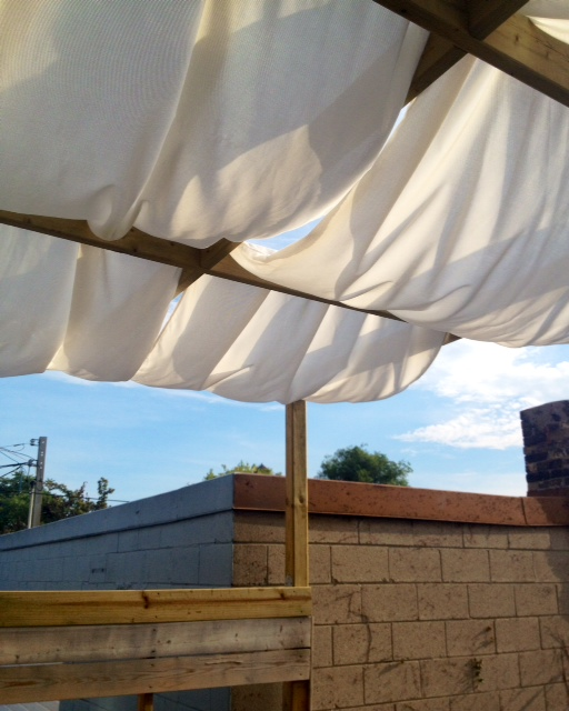 Completed Shade Canopy