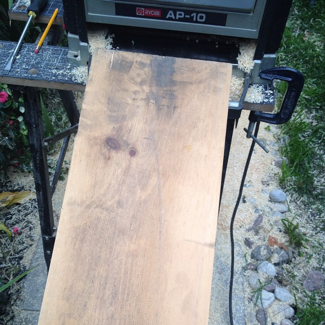 Pine Before Planing