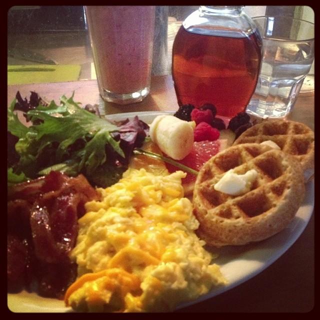 Gluten Free waffles & breakfast