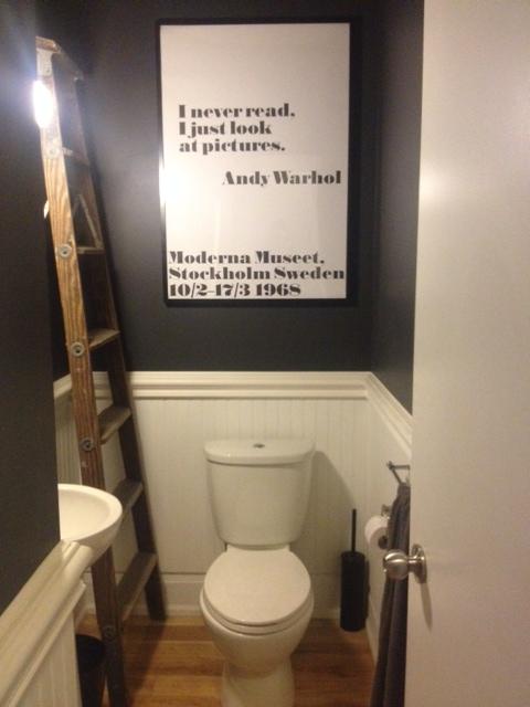 New Art - Powder Room