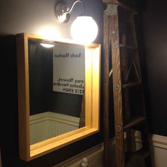 DIY Shadowbox Mirror