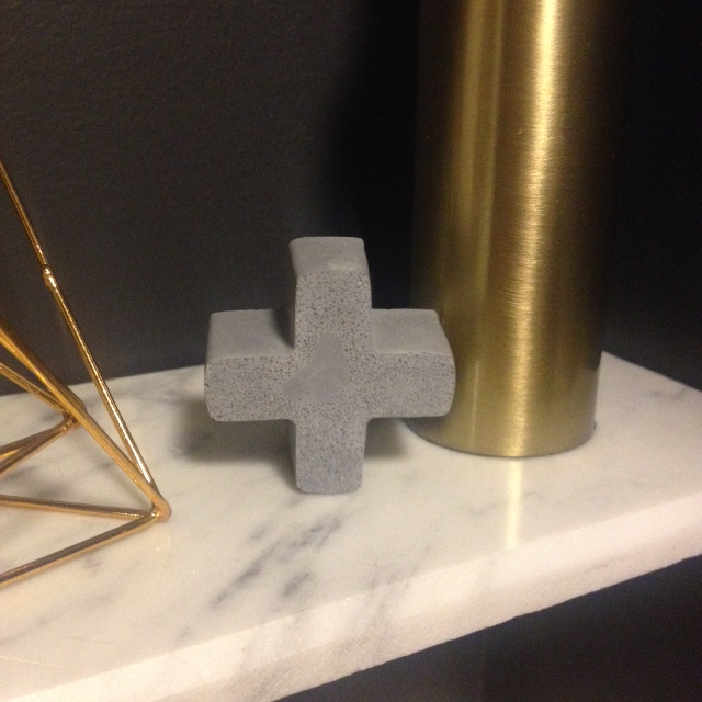 Concrete Swiss Cross