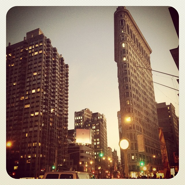A snap from my last trip to NYC. My hotel was located right beside Eatily and around the corner from the Flatiron building. Also, I really used waaaay too many Instagram filters back then! eeep