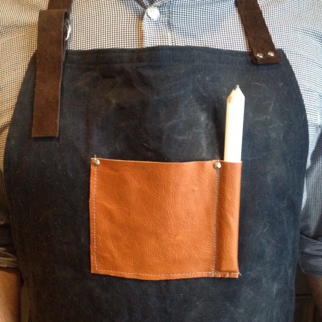 DIY Mens Apron