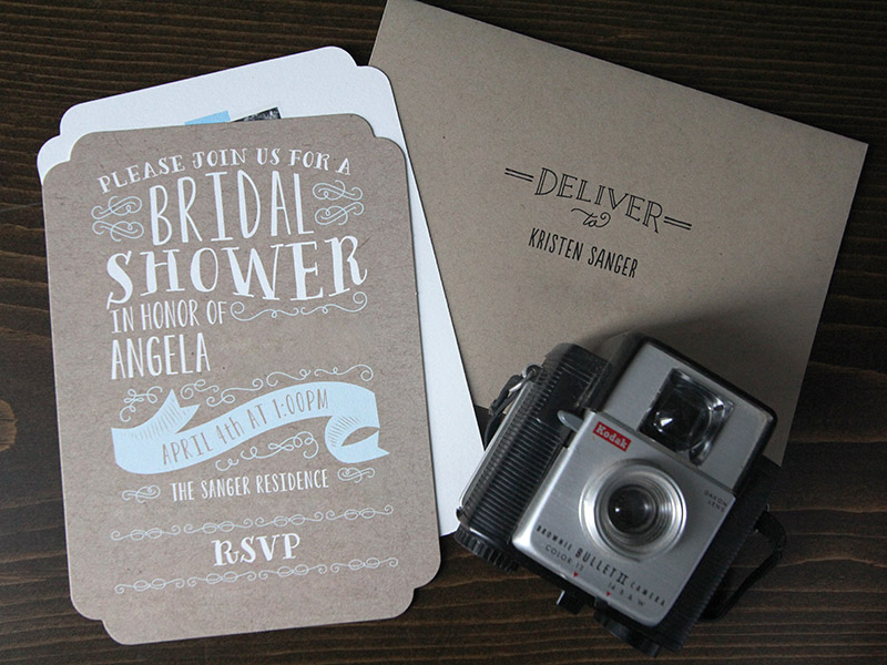 Minted Delightful Bridal Shower Invite