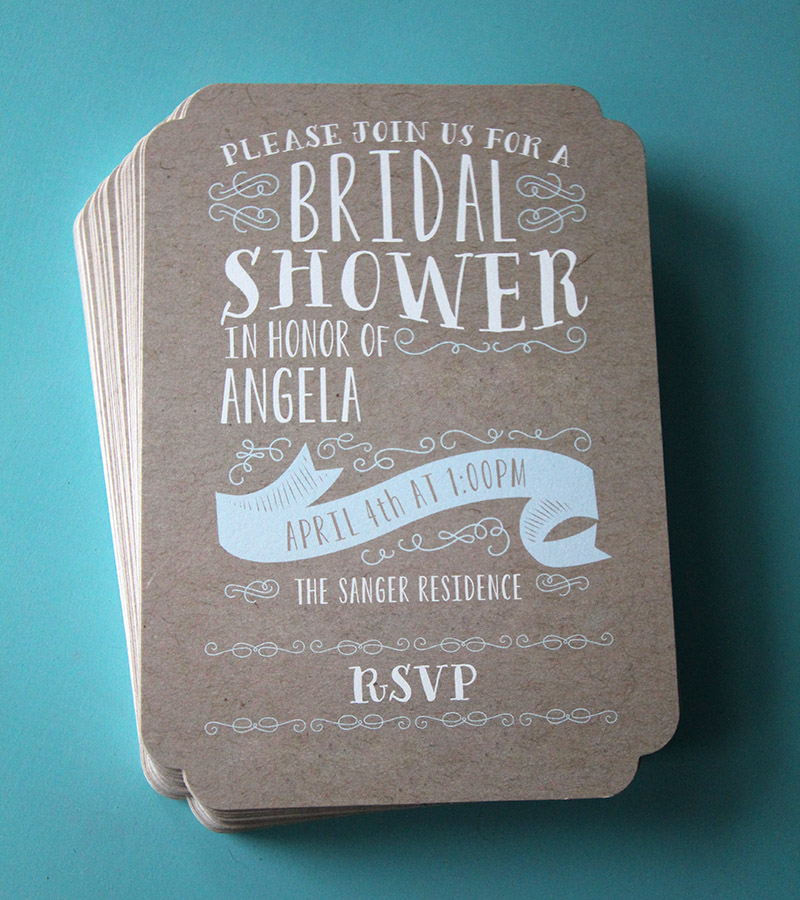 Minted Bridal Shower Invite