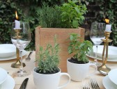 Herb Centerpiece – Merry Mag Sneak Peek